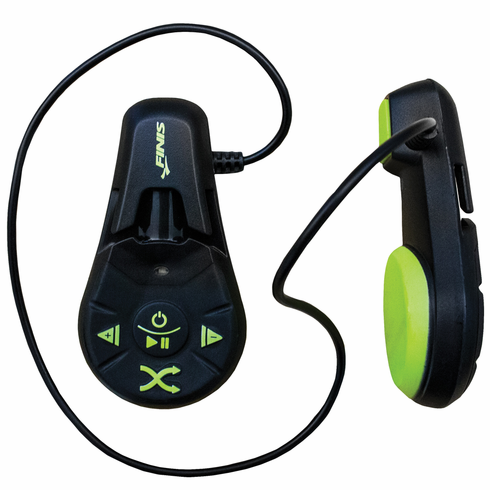 FINIS Underwater  MP3 Player - Black/Lime Green
