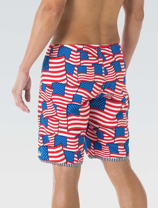 Uglies Men's Patriotic 9 Inch Boardshort