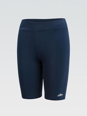 Womens AQUASHAPE Solid Navy Jammer