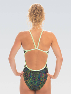 Women's Uglies Roadmap String Back 1-Piece - Spring 2020