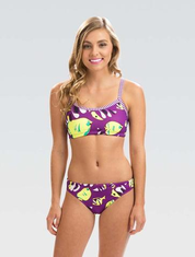 Womens Uglies Fish Tales Workout Two Piece