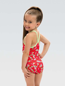 Toddler Girls Little Dolfins Berry Cute One Piece