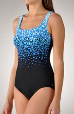 Reebok Cannonball Tank One Piece Swimsuit