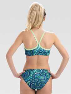 Womens Uglies Waves For Days Workout Two-Piece Swimsuit Fall 2019