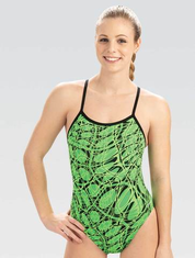 Women's Reliance Green Energy String Back One Piece Swimsuit 2020