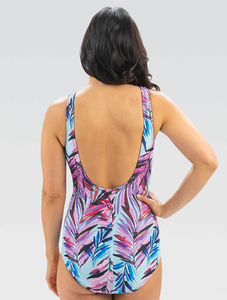 Aquashape Wysteria Ruched Front One Piece Swimsuit 2020