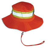 Fluorescent Orange Boonie Hat