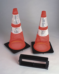 Set of  2 Collapsible Traffic Cones