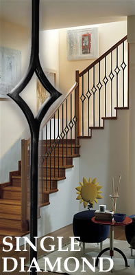 Stair Parts L Iron Baluster L Iron Railings L Stair