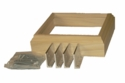3020 L-Bracket Box Newel Mounting Kit