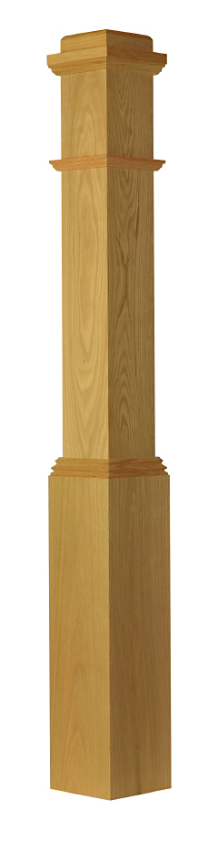 Box Newel L Stair Parts L Balusters L StairWarehouse   Featured Stair Parts