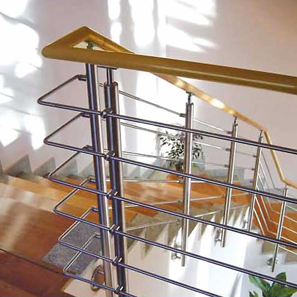 Stainless Railing L Stainless Contemporary Railing