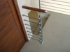 In-Line Round Bar Holder for 1.66 inch Newel Post