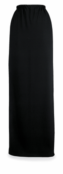 Long Crepe Skirt With Elastic Waist