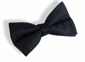 Marcata Textured Banded Bow Tie