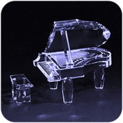 Crystal Piano (M)