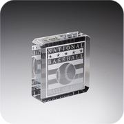 Crystal Square Paperweight