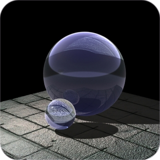 "Purple CrystalBall(4"",110mm) $54.96"