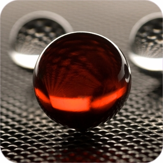 "Red Crystal Ball (5"",130mm) $134.94"