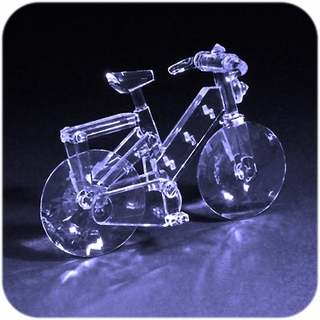 Crystal Bicycle
