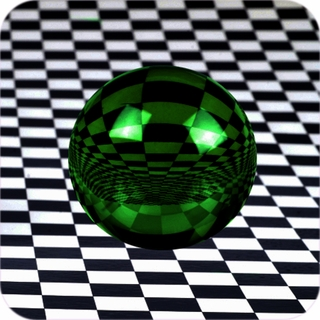 "Green CrystalBall (4"",110mm) $54.96"