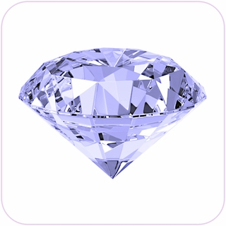 "Clear Crystal Diamond (7"") $151.96"