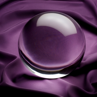"Clear Crystal Ball (M: 3.1"", 80mm) $27.96"
