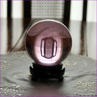 "Pink Crystal Ball (L: 4.2"",110mm) $49.96"