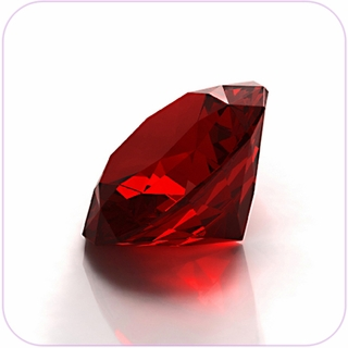 "Red Crystal Diamond (2"") $19.96"