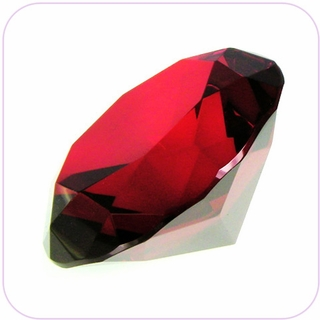 "Red Crystal Diamond (4"") $19.96"