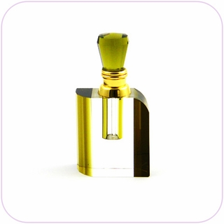 Crystal Perfume Bottle (Brown)