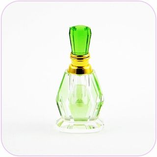 Crystal Perfume Bottle (Green)