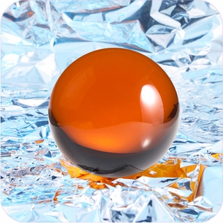 "Amber CrystalBall ( 2"",50mm ) $18.96"