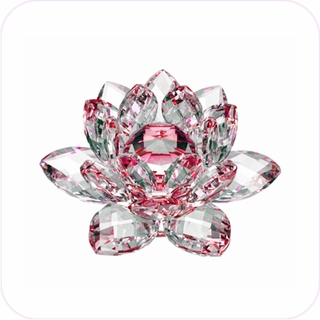 New-Style Red Crystal Lotus (S)
