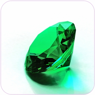 "Green Crystal Diamond (3"") $27.96"