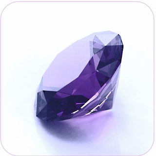 "Purple Crystal Diamond (2"") $19.96"