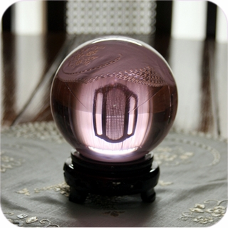 Pink (Rose) Crystal Ball