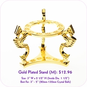 Gold Plated Stand (M)