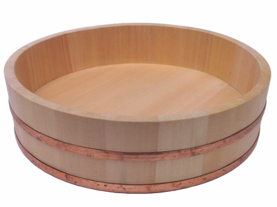 13 Inch Wooden Sushi Bowl