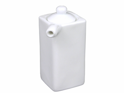 White Porcelain Special Sauce Dispenser