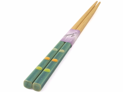 Adorable Dots Two Toned Japanese Style Chopsticks