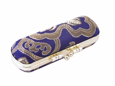 Chinese Brocade Lipstick Case