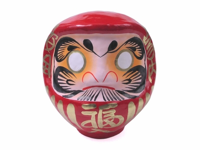 Eight Inch Red Daruma