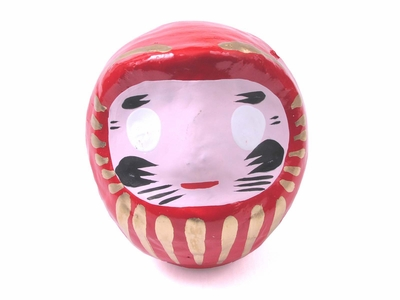 Three and a Half Inch Red Daruma