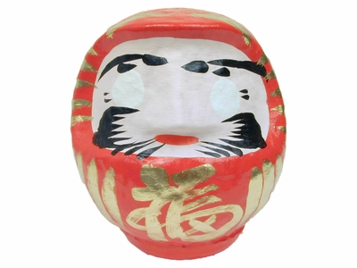 Four and a Half Inch Red Daruma