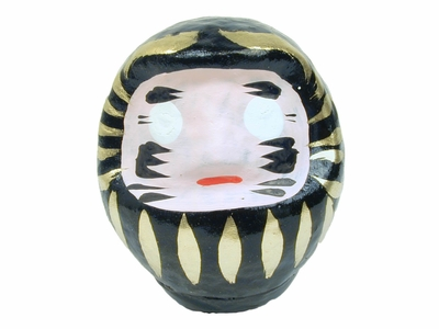 Medium Size Black Daruma