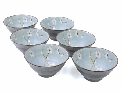 Cherry Blossom Rice Bowl Set
