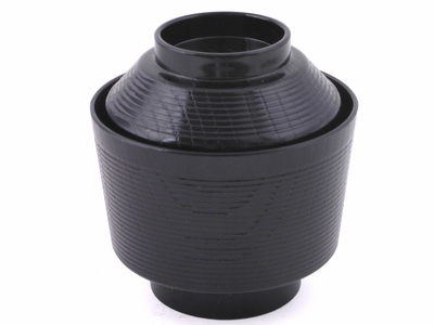 Black Soup Container