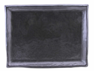Black Alloy Rectangular Plate