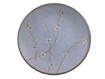 10-1/4 Inch Japanese Cherry Blossom Plate